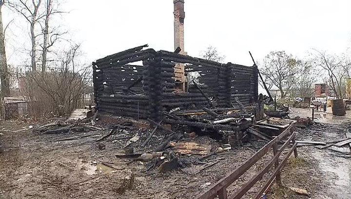 Пожар под Волгоградом: найдены останки бабушки и внуков
