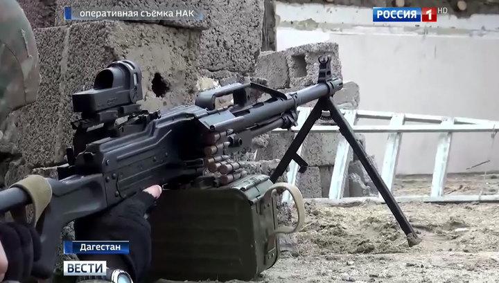 В ходе КТО в Дагестане уничтожен один боевик