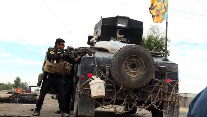 Иракский спецназ продвигается к центру Мосула