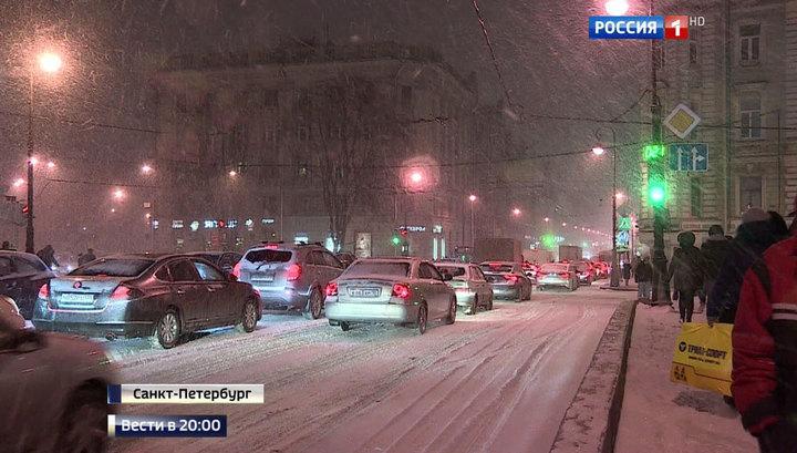 Россия нарядилась в белое от границы до границы