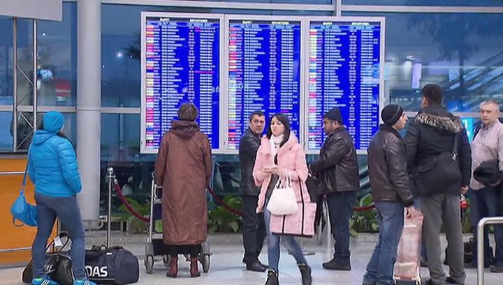 После самой холодной ночи в году в Москве отменяют авиарейсы