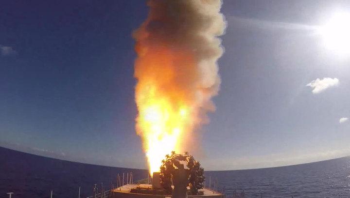 У берегов Камчатки корабль ТОФ осуществил электронные пуски крылатых ракет