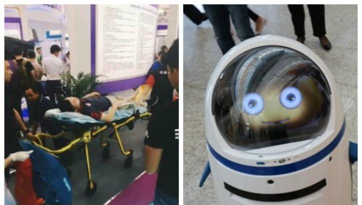 В Китае зафиксировано первое в мире нападение робота на человека