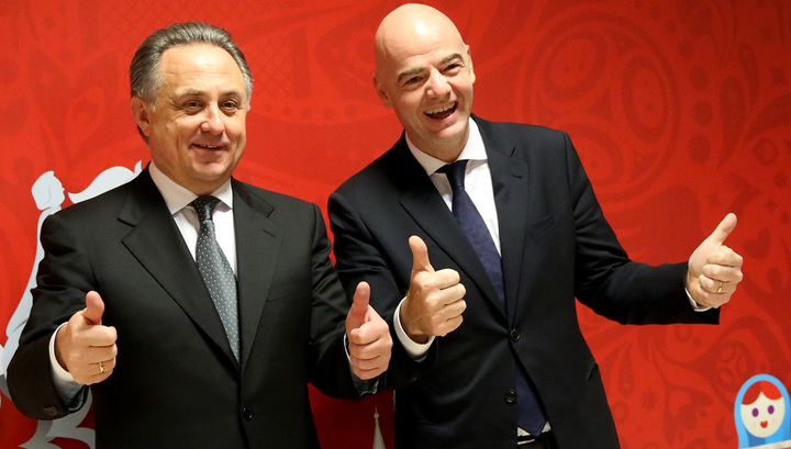 Президент ФИФА: Россия готова к чемпионату мира-2018 на 99 процентов