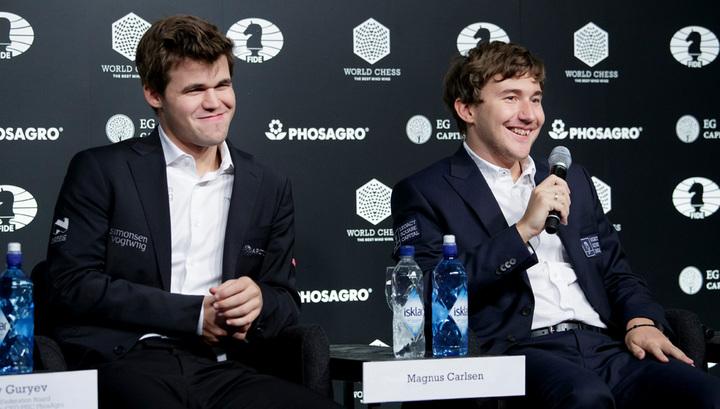 Карякин дал комментарии по поводу своего поражения в матче за шахматную корону