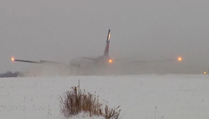 Самолет экспериментальной авиации выкатился за пределы ВПП в Нарьян-Маре
