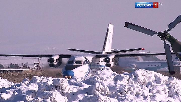 За выжившим в авиакатастрофе ребенком вылетел вертолет