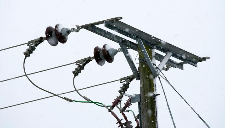 Непогода оставила тысячи жителей Иркутской области без света