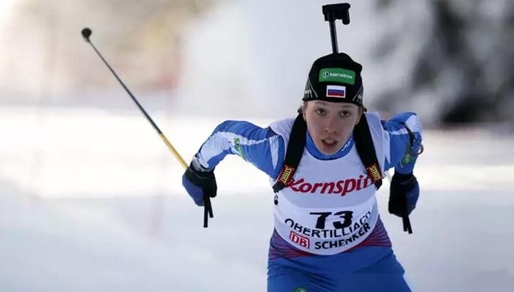 Биатлонистка Кайшева попала в состав сборной на женскую эстафету