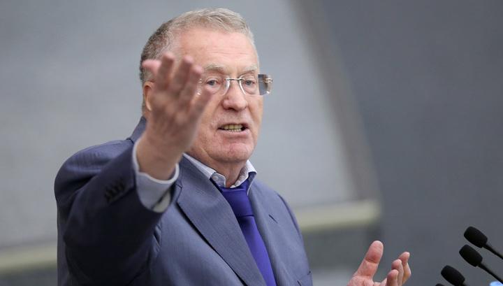 Жириновский: Англия проиграла, потому что на трибунах не было Мэй
