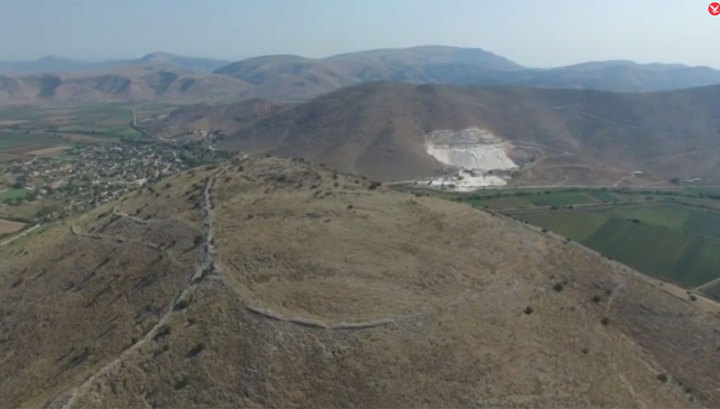 В Греции обнаружен древний подземный город