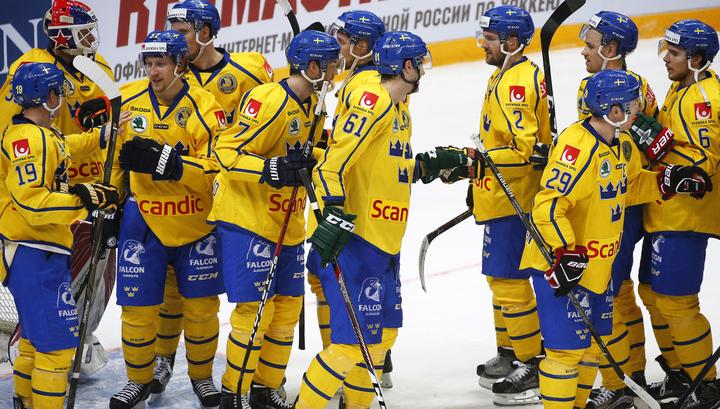 Сборная Швеции по хоккею опубликовала состав на Олимпиаду