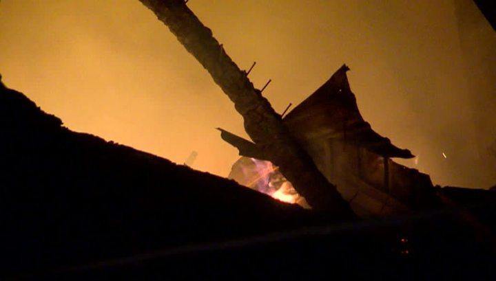 Семь человек пострадали во время пожара в Анадыре