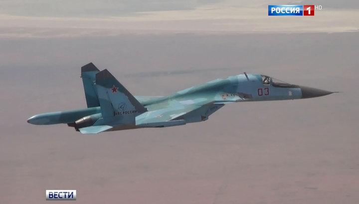 Российская авиация уничтожила склады террористов в Идлибе