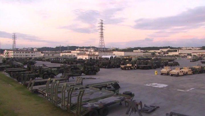 Япония требует прекратить полеты американских F-15 с базы на Окинаве