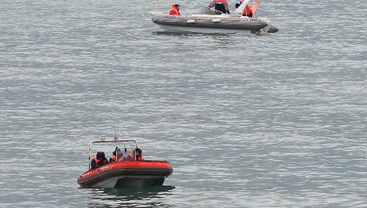 Л-39 упал в Азовское море: пилотов среди обломков не нашли