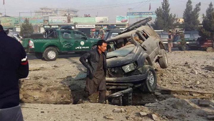 Взрыв в Кабуле: погибли два человека, трое ранены