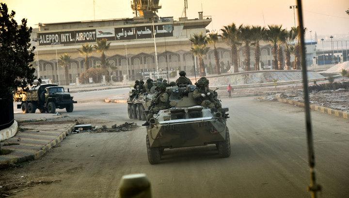 Шоссе Алеппо-Дамаск полностью освобождено от террористов