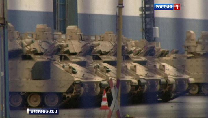 Гости из НАТО обходятся дорого: Вашингтон отправил танки в Прибалтику