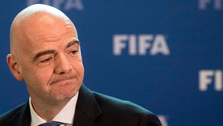 Джанни Инфантино, глава ФИФА