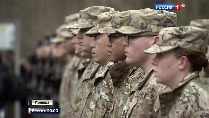 Крупнейшая переброска со времен холодной войны: армия США у границ РФ