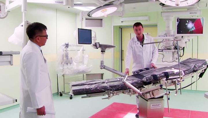 На Сахалине построили новый хирургический комплекс