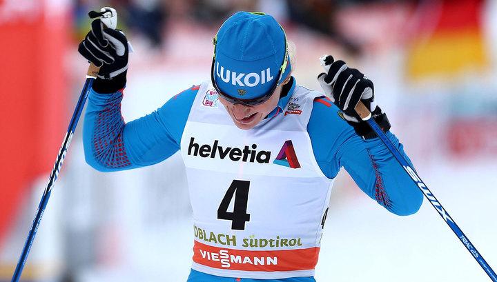 Российские лыжники попали в тройку призеров на Кубке мира в Швеции