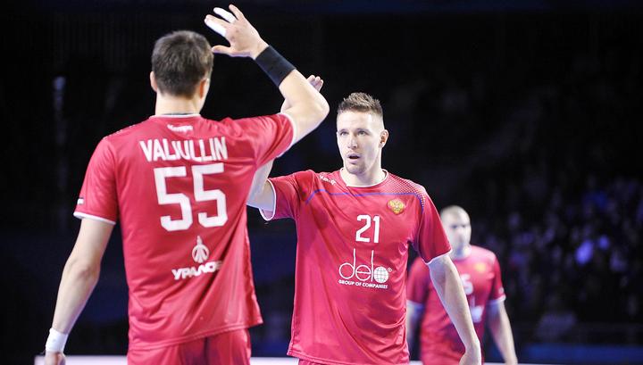 Российские гандболисты победили финнов в отборочном матче чемпионата мира