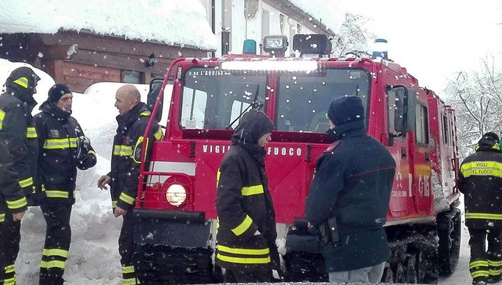 """Трагедия в отеле """"Ригопьяно"""": выживших больше нет"""
