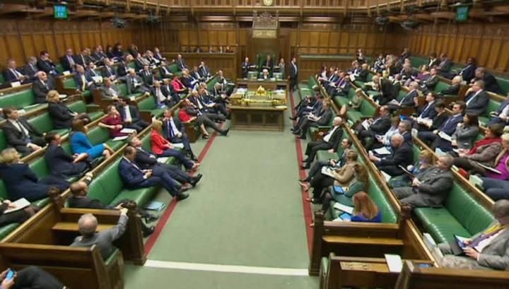 Британские законодатели начали обсуждать Brexit