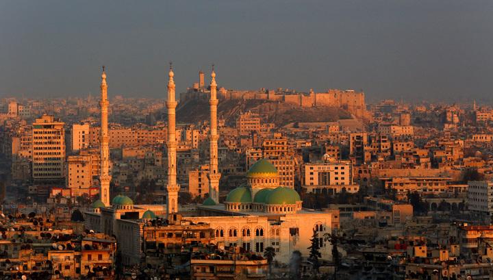 При обстреле боевиками Алеппо погиб один сирийский военный