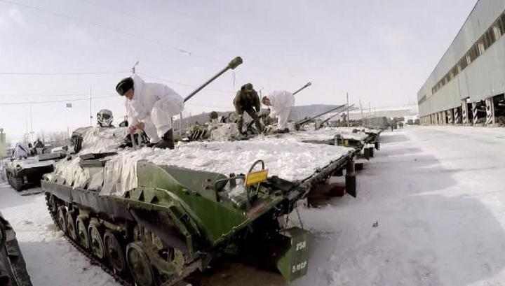 Внезапная проверка: российская 4-я военная база поднята по тревоге