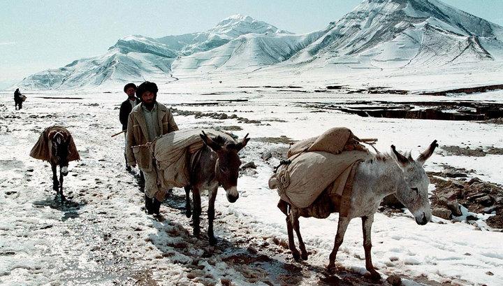 Число жертв снегопадов в Афганистане превысило 100 человек