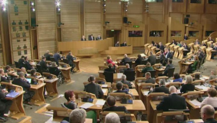 Показательное голосование: парламент Шотландии выступил против Brexit
