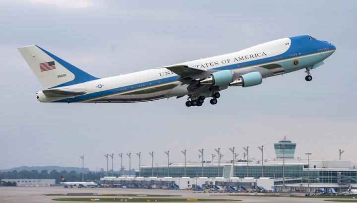 Самолет президента США мог взорваться во время полета