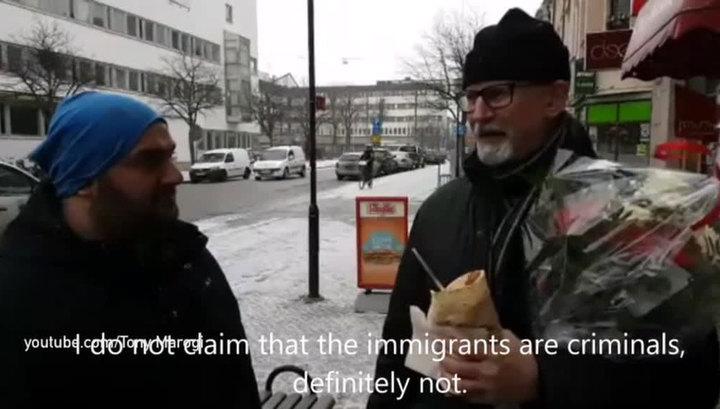 В Швеции полицейский попал под раздачу из-за критики поведения мигрантов