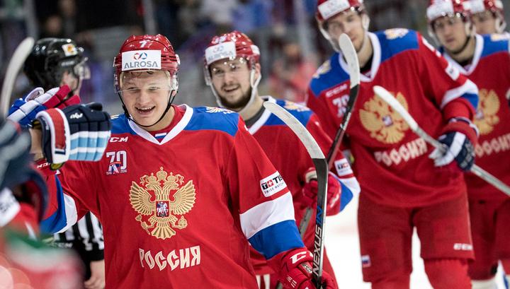 Мужская сборная России по хоккею не имеет проблем с допингом