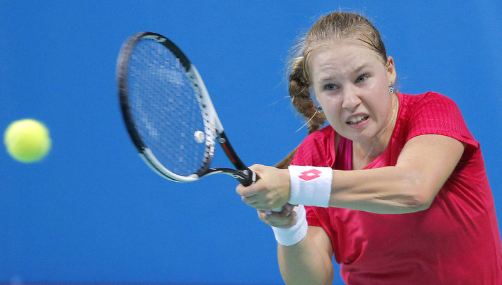 Теннисистка Блинкова вышла в третий круг турнира в Дохе