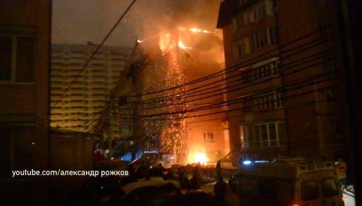 В Краснодаре жертвой пожара стал ребенок, еще двое детей пострадали