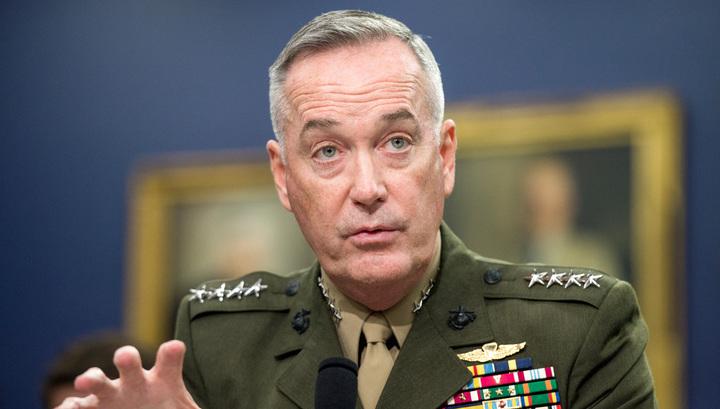 Генерал Данфорд: мы не координировали с Россией удары по Сирии