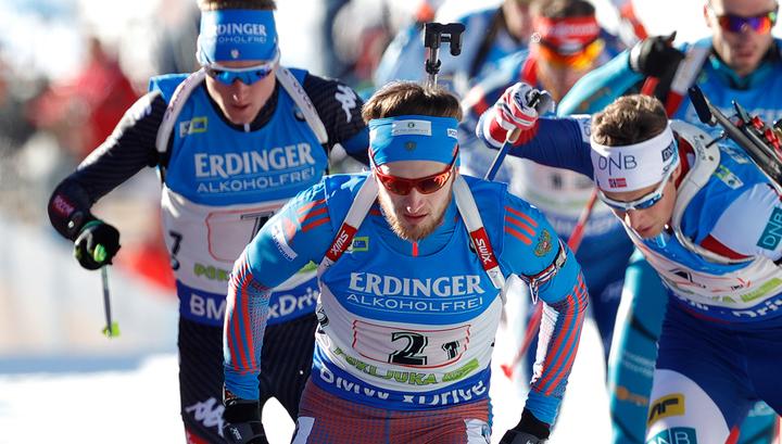 Восемь российских биатлонистов поборются за попадание на Олимпиаду