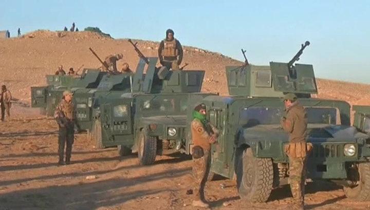 Ирак вводит войска в Курдистан