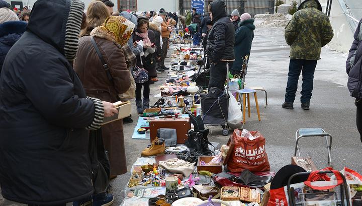 Городской блошиный рынок в Музее Москвы