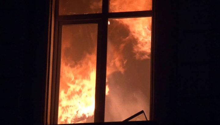 Пожар в частном доме в Омской области унес жизни трех человек