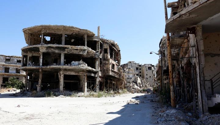 Минобороны РФ: удар по Хомсу нанесли ВВС Израиля