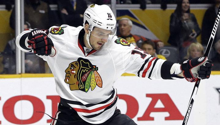 Артем Анисимов сделал первый хет-трик в заокеанской НХЛ