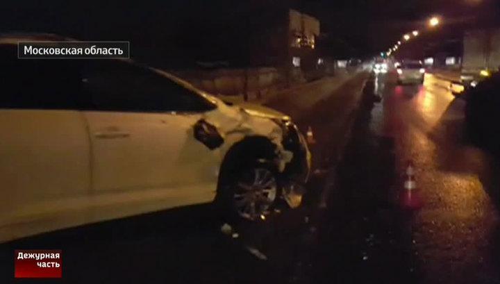 Сын рождественской попал в автокатастрофу