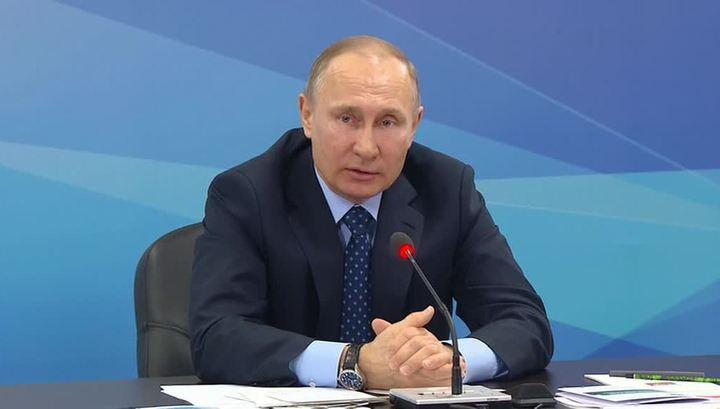 Путин: в России нет господдержки допинга, есть только борьба с ним