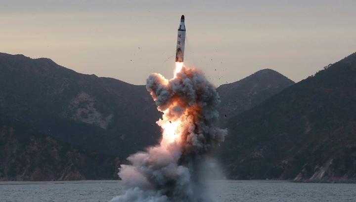 Пентагон: северокорейская ракета взорвалась сразу после старта