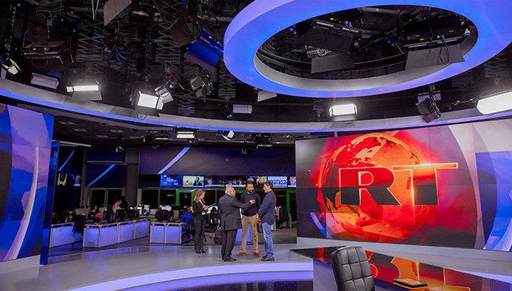 RT зарегистрировался в США в качестве иностранного агента